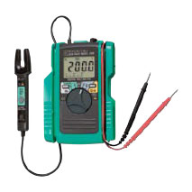 2000  (Digital Multimeter With AC/DC Clamp Sensor)