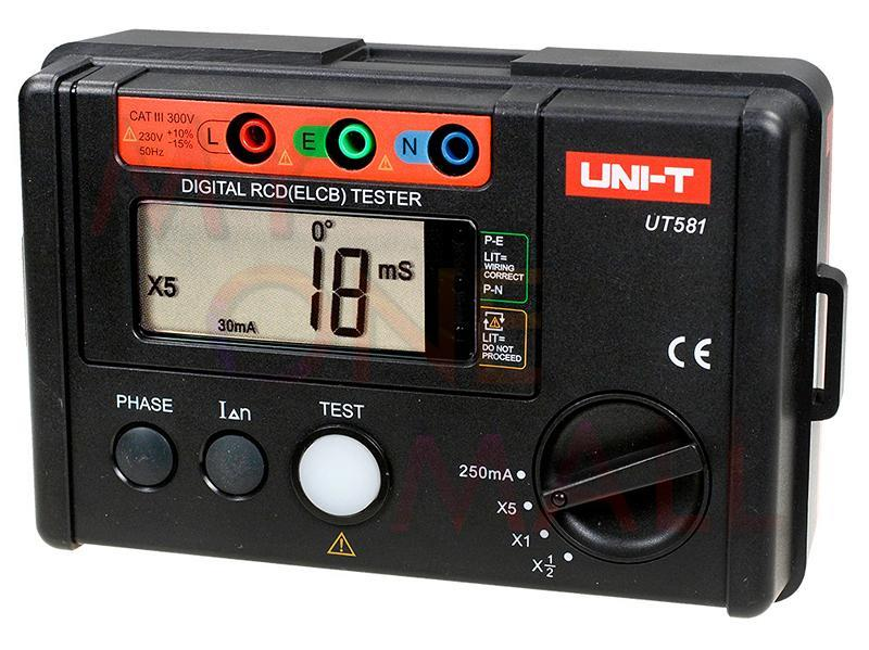 RCD Testers (ELCB Testers)